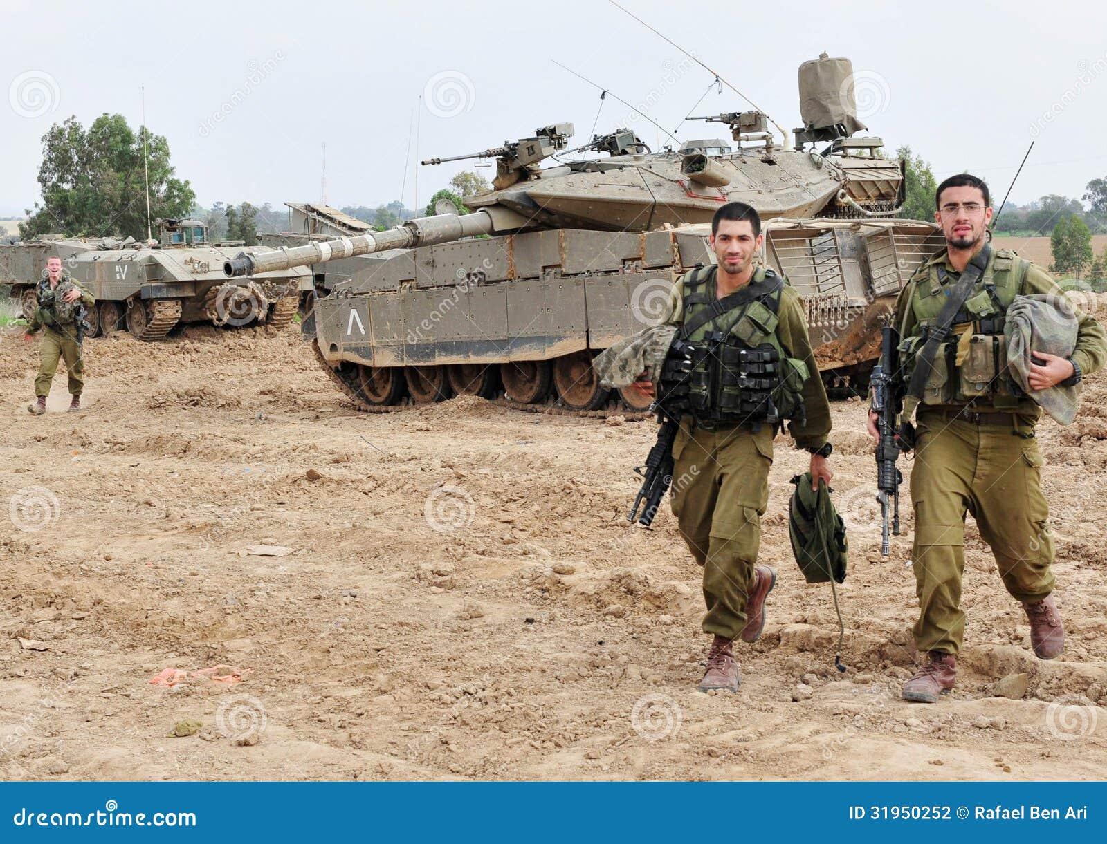 Israelischer IDF-Behälter - Merkava