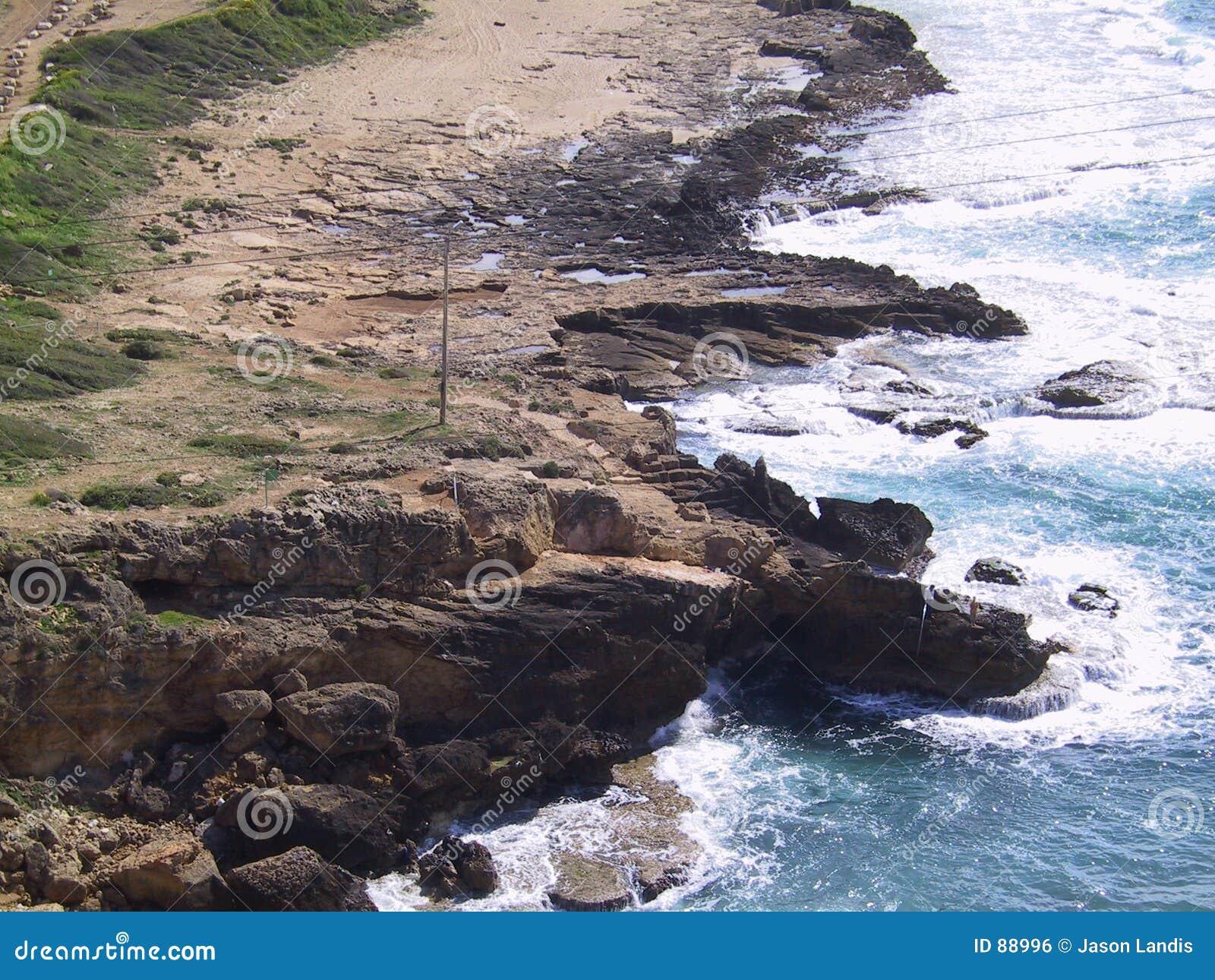 Isreali береговой линии северное