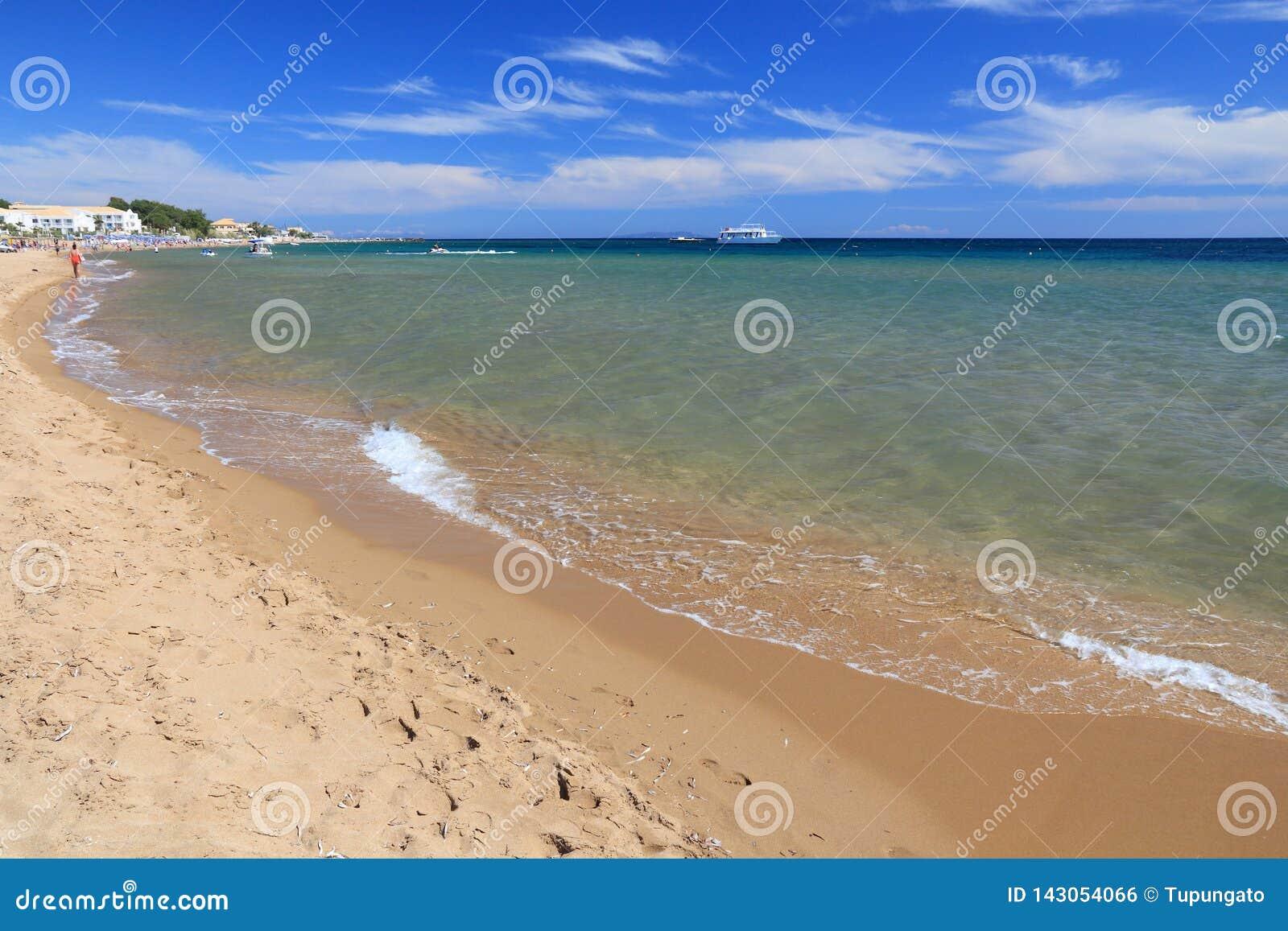 Issos-Strand, Korfu