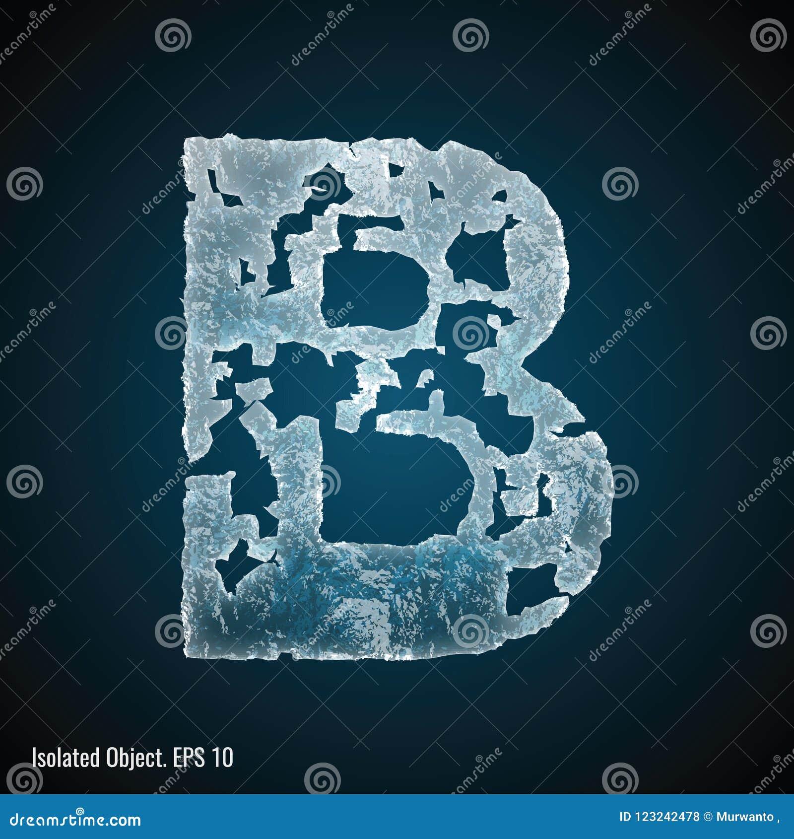 Isstilsort av bokstav B