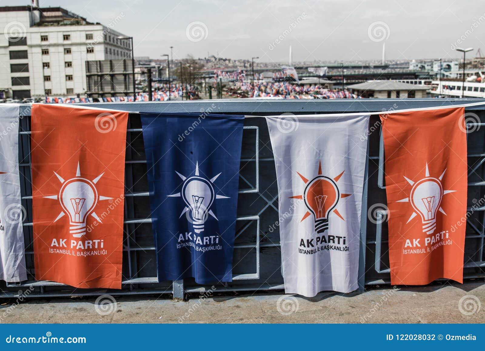 ISTAMBUL, TURQUIA - 27 DE MARÇO DE 2014: Eleição Bann da autoridade local