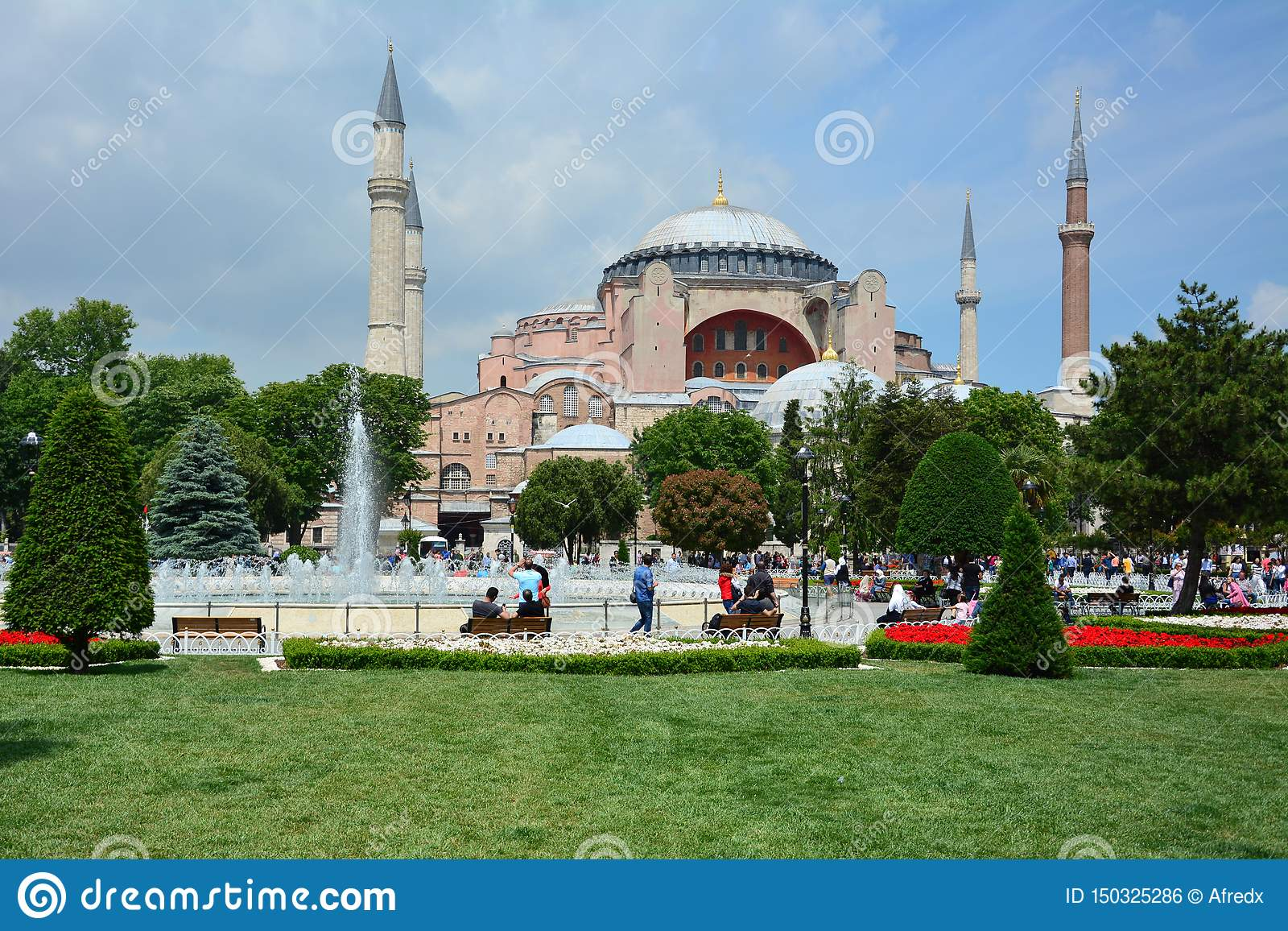 Istambul, Turquia o Hagia Sophia