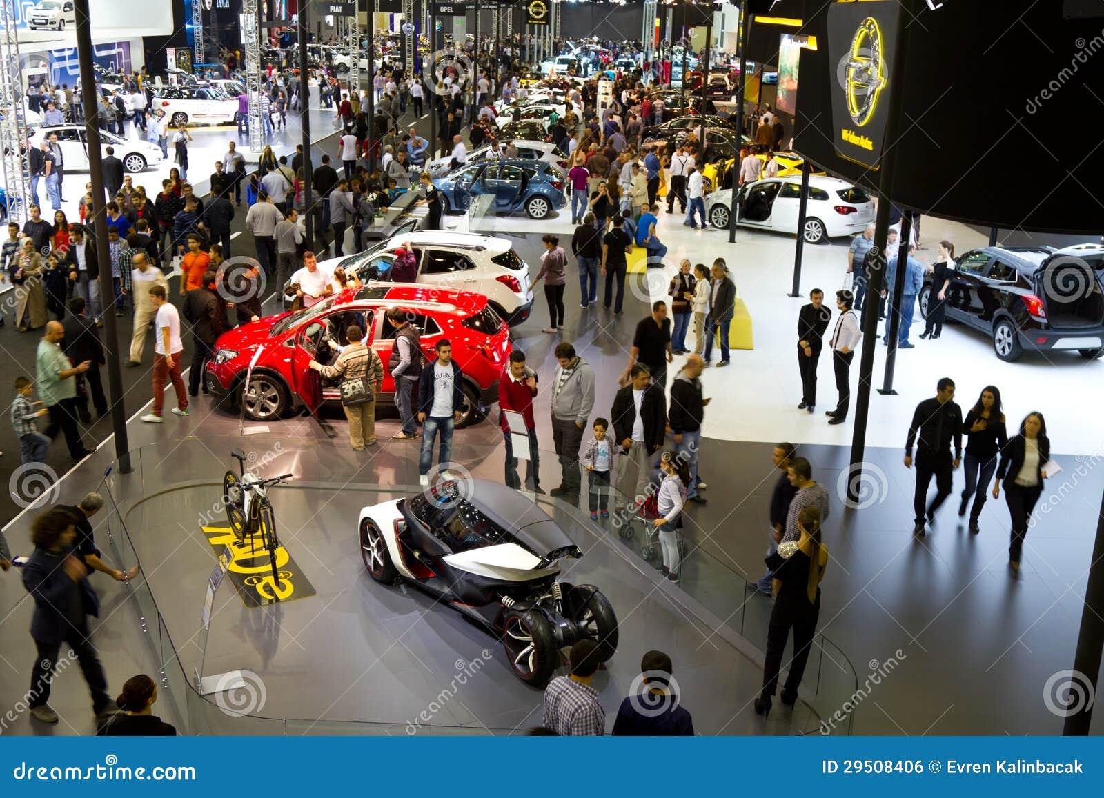 Istanboel Auto toont 2012
