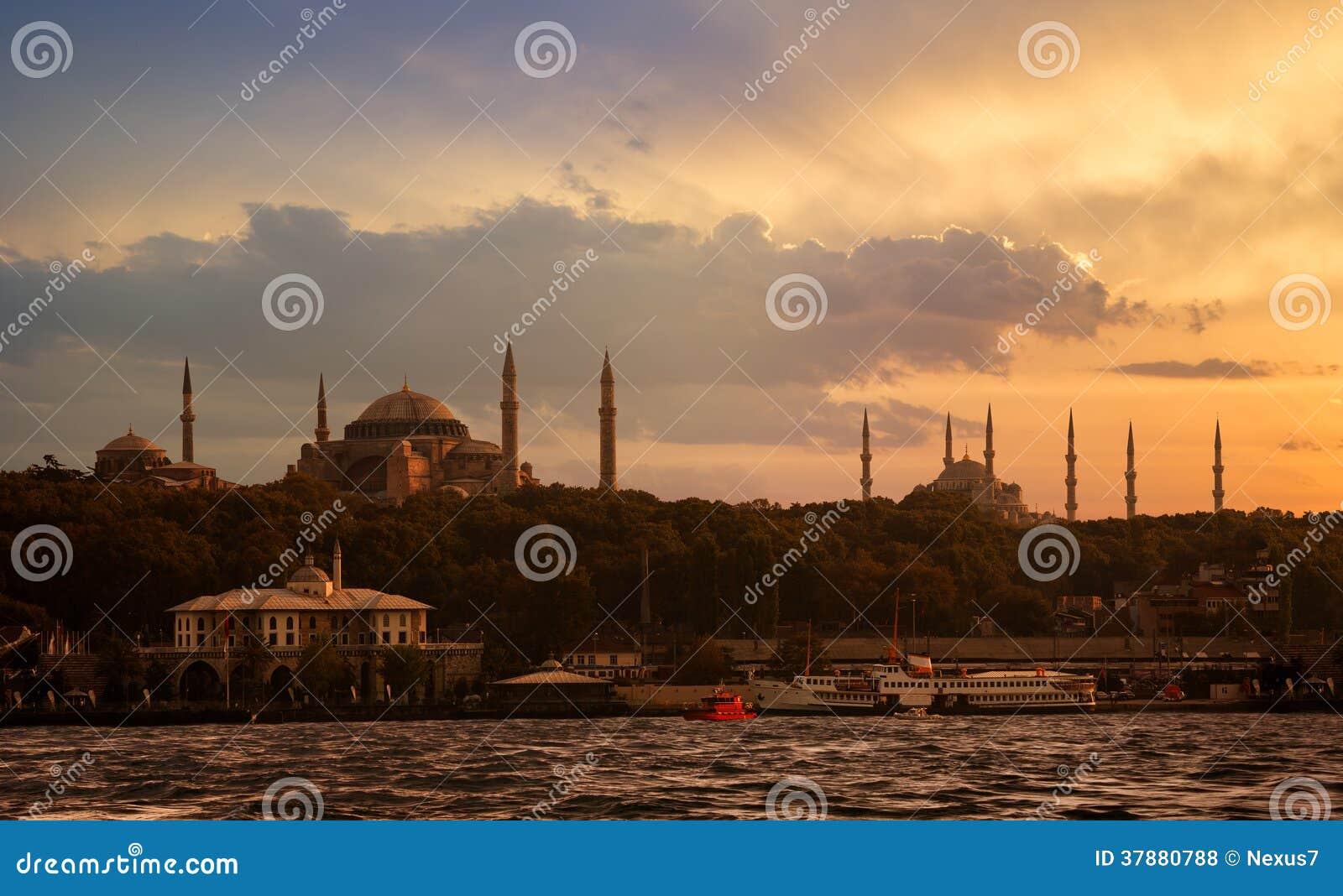 Istanboel het Historische Schiereiland
