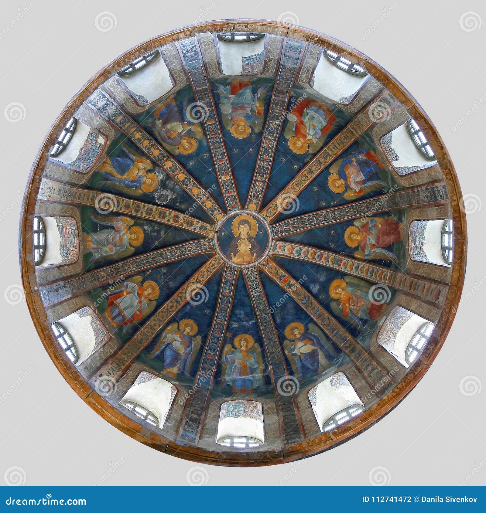ISTANBOEL, TURKIJE - MAART 25, 2012: Fresko in Kerk van Christus de Verlosser