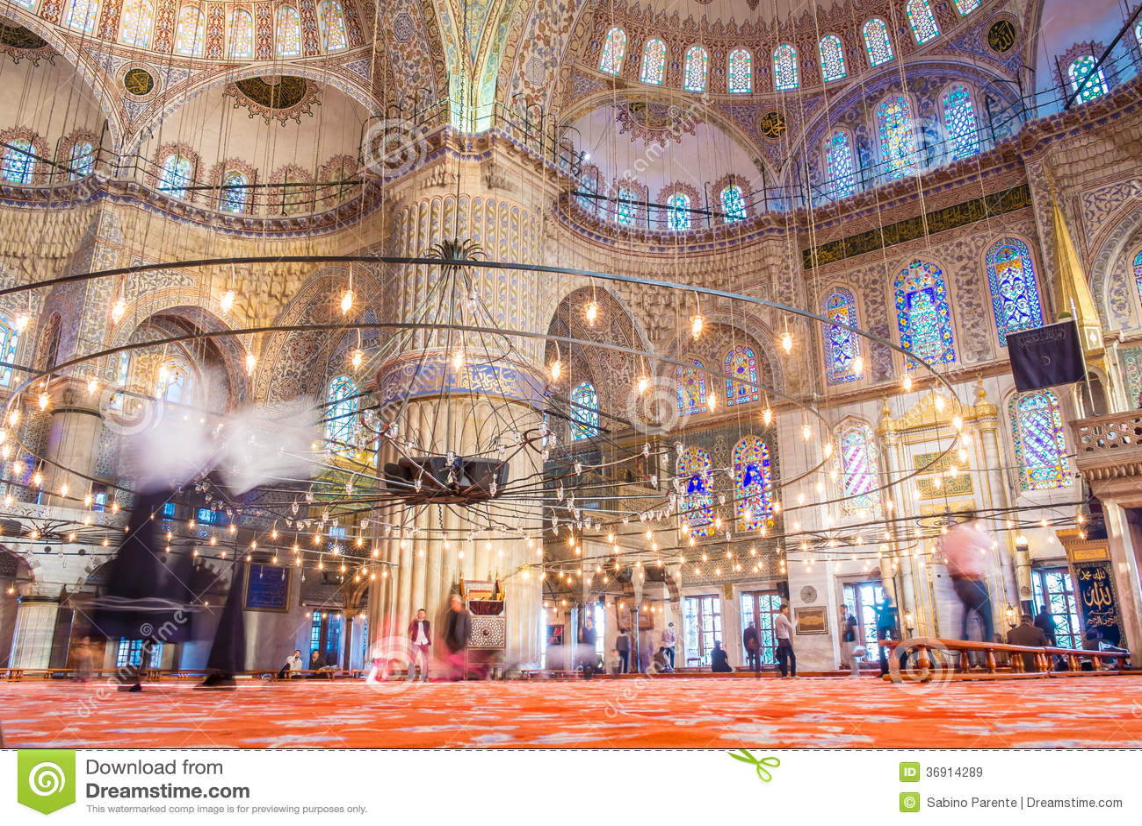 Istanbuł błękita meczet