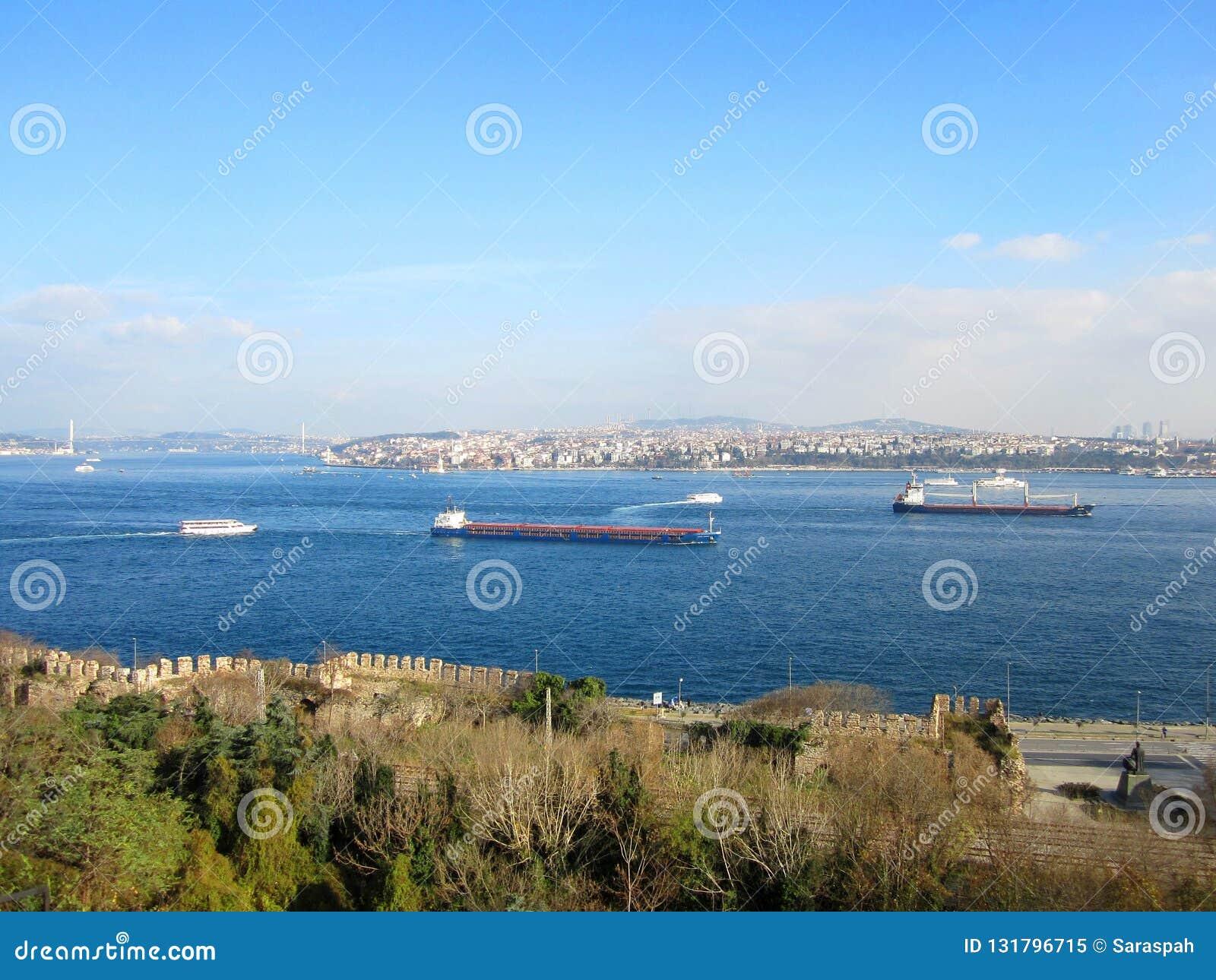 Istanbul-Ansicht von Topkapi-Palast