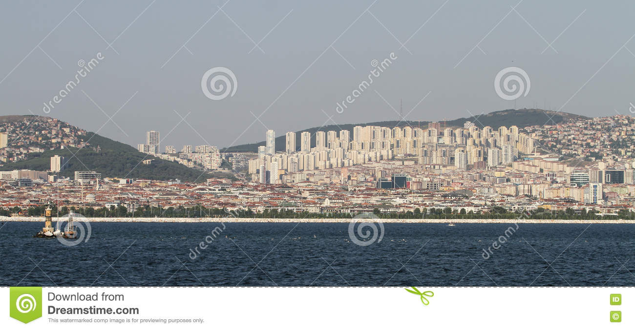 Istanbul City Turkey Stock Image Image Of City Kartal 74927301