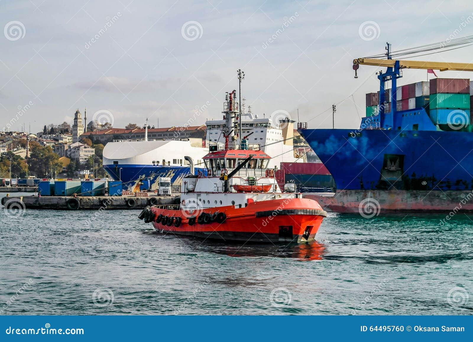 Istanbul-Feuerboot