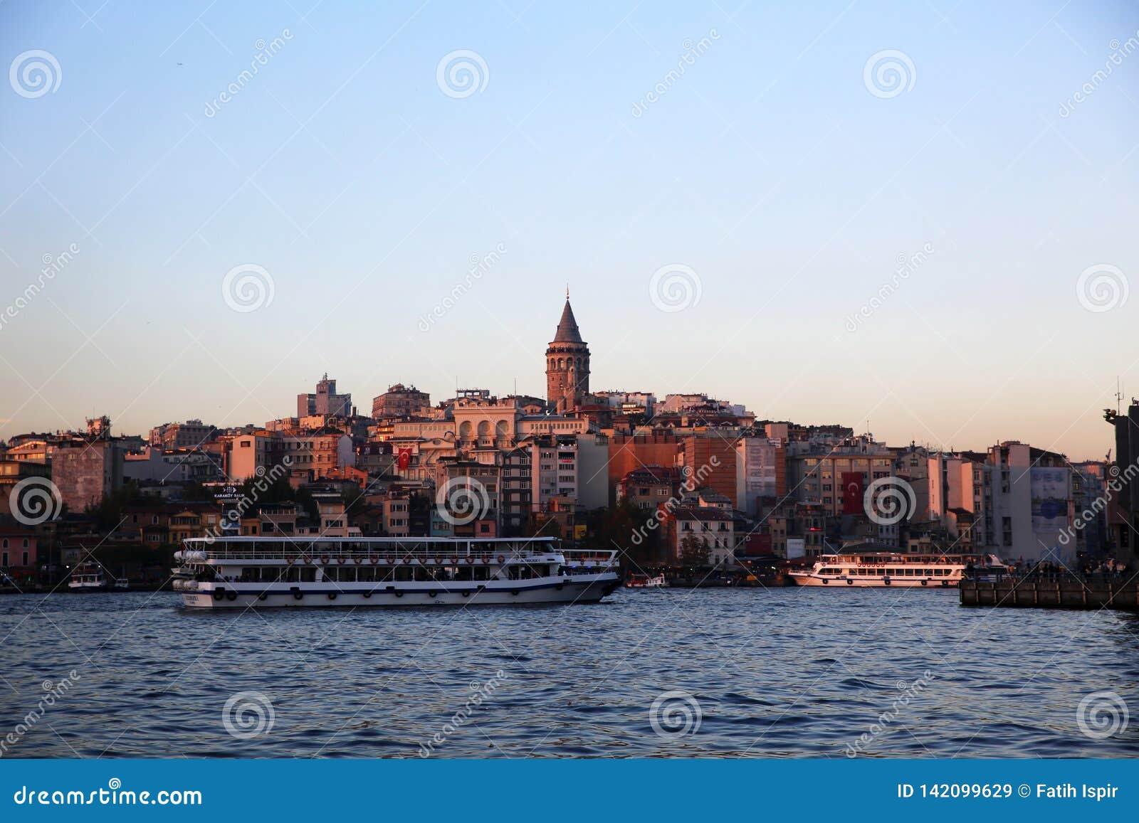 Istanbul ist eine der 81 Städte der Stadt und des Landes in der Türkei