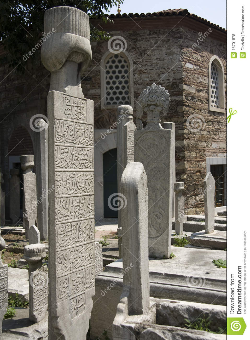 Istanbul - Old Islamic Tombstones
