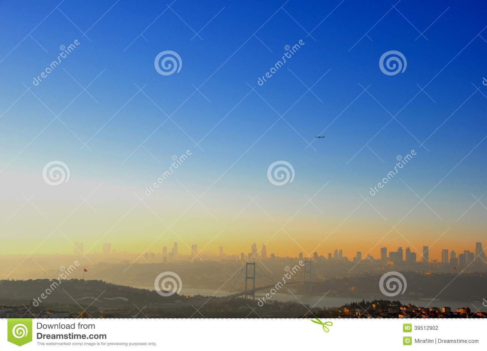 Istanbul-Sonnenuntergang