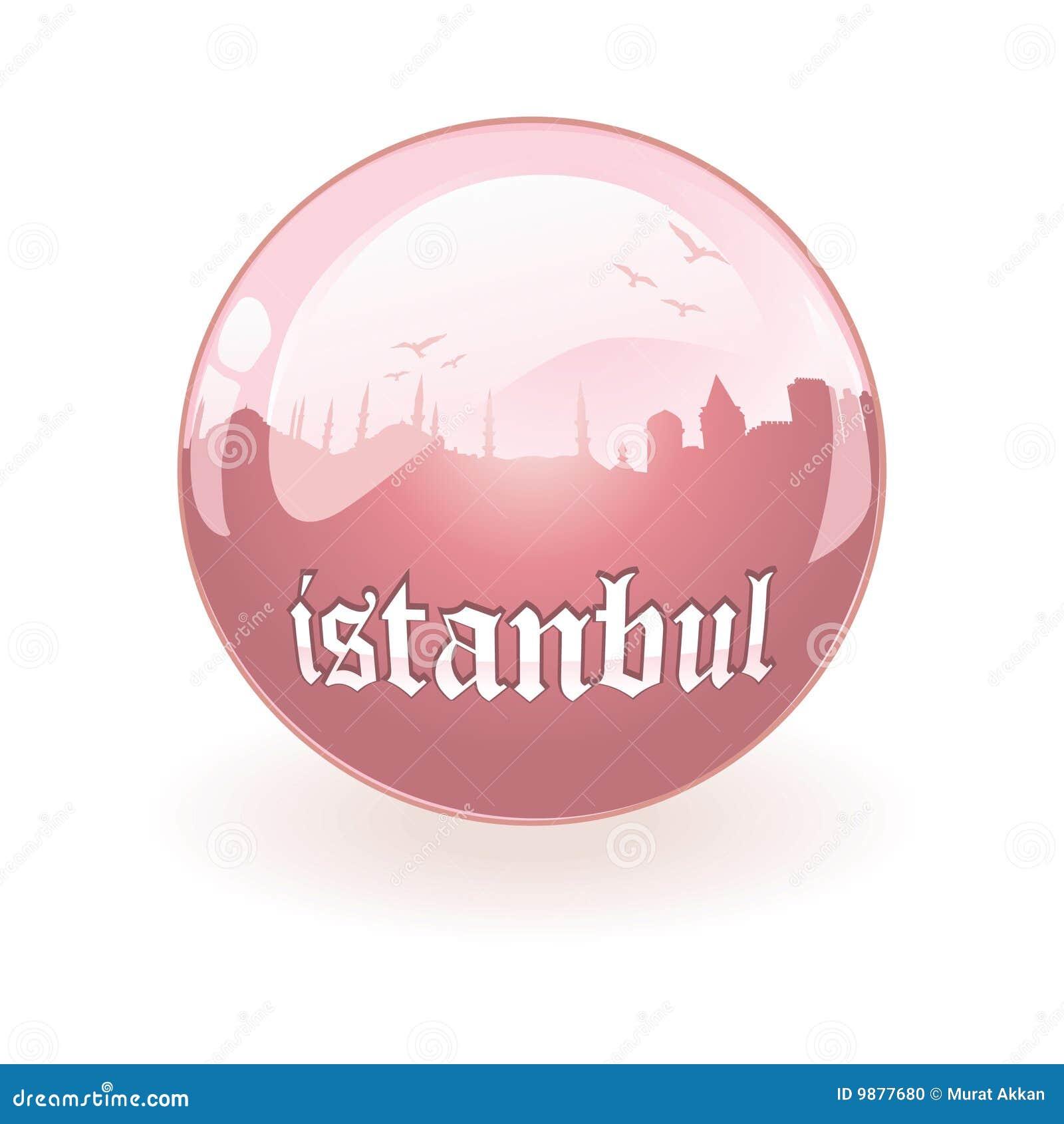 Istanbul sylwetki wektor