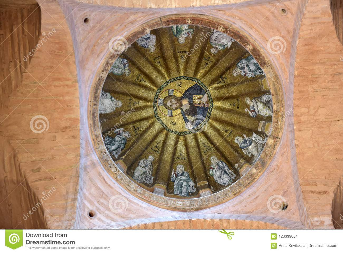 b2d4ed3b6e Fethiye Museum Interior In Istanbul. Also Known As The Church O ...