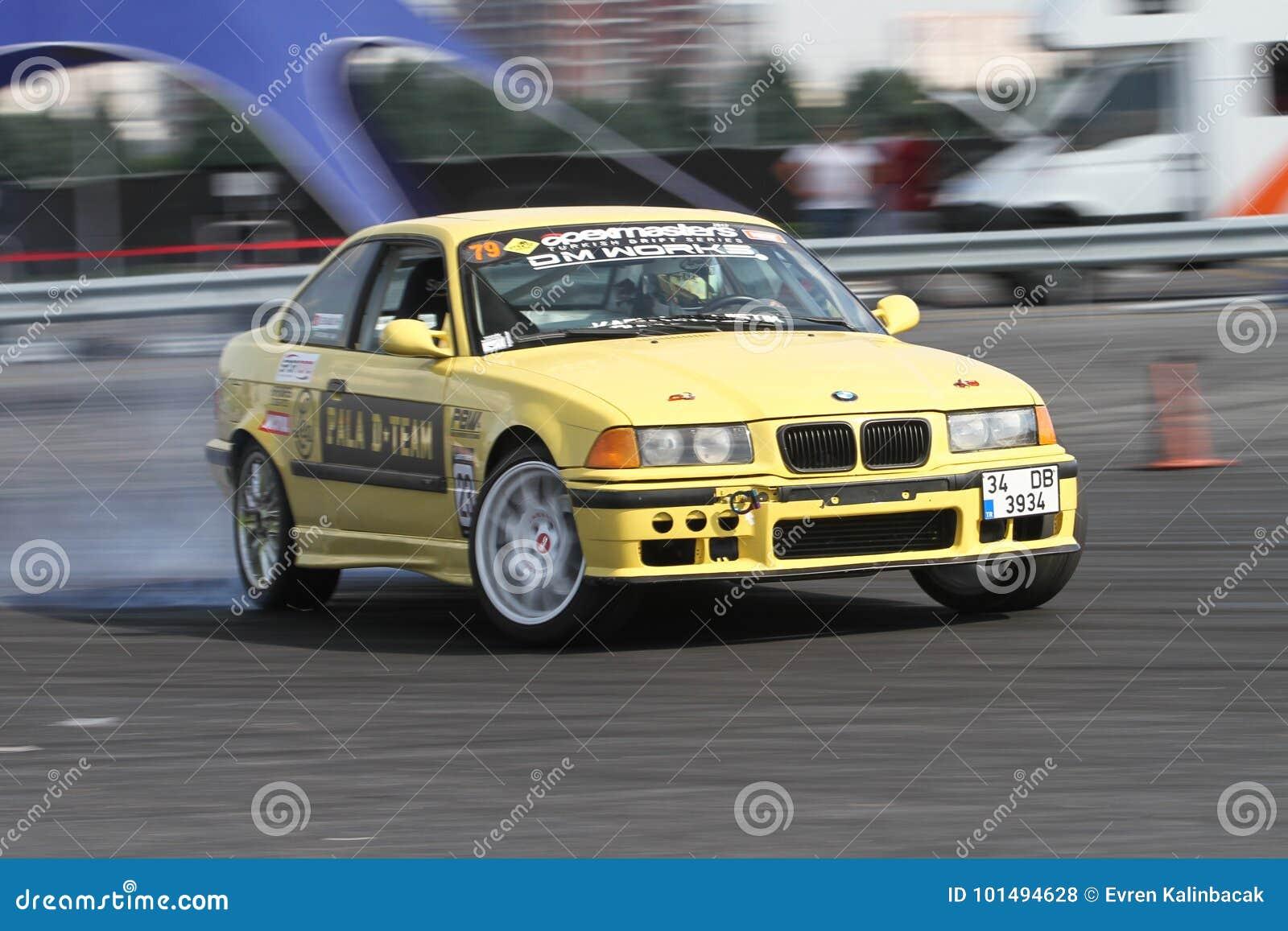 Apex Masters Turkish Drift Series Istanbul Race 2017 Editorial Stock