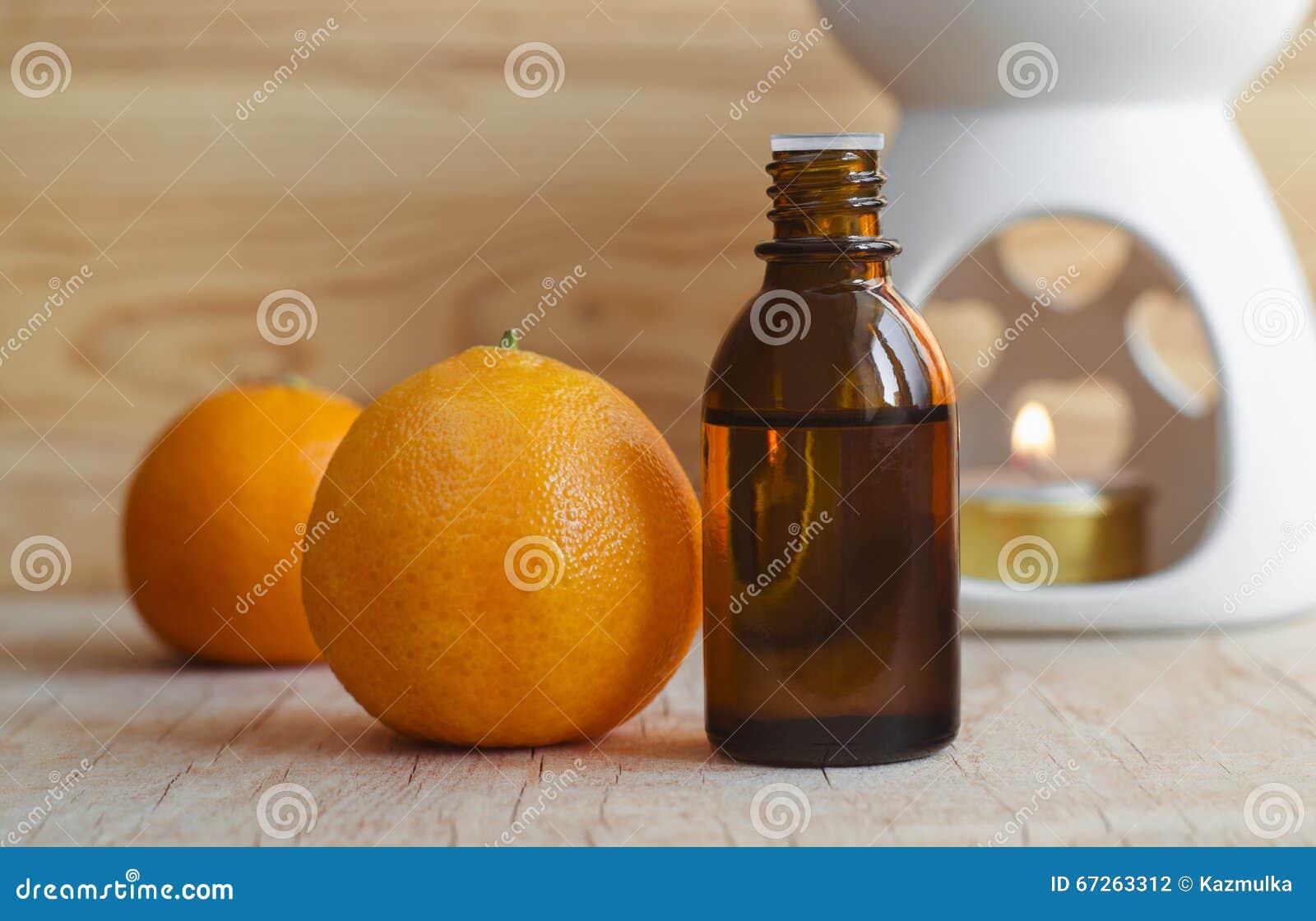 Istotny mandarynka olej