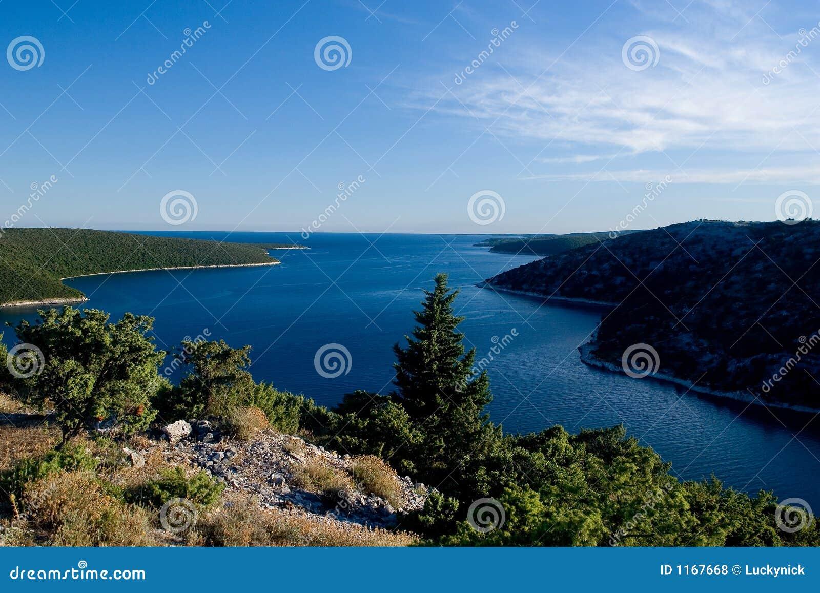 Istria coastline