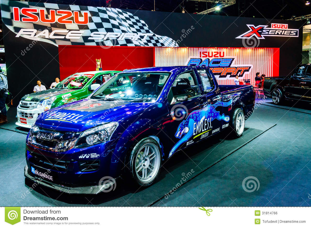 D Max Exhibition Models : Isuzu d max editorial photo image of showroom modern
