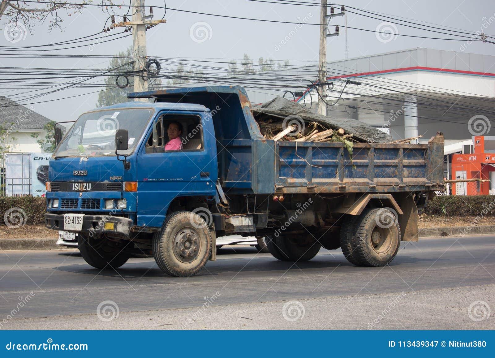 Download Isuzu Dump Truck Privada Fotografia Editorial. Imagem De Caminhão    113439347