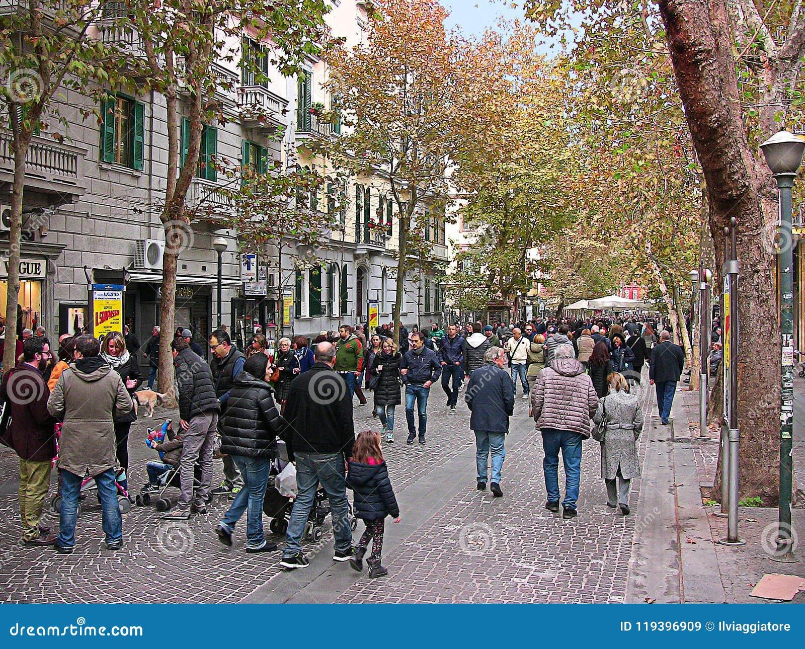 Italië Napels, Luca Giordano-straat, 5