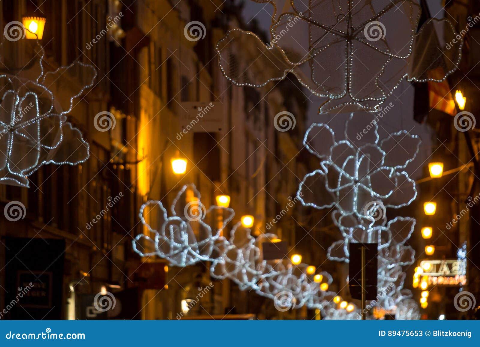 Italië, Rome, via del Babuino bij Kerstmis