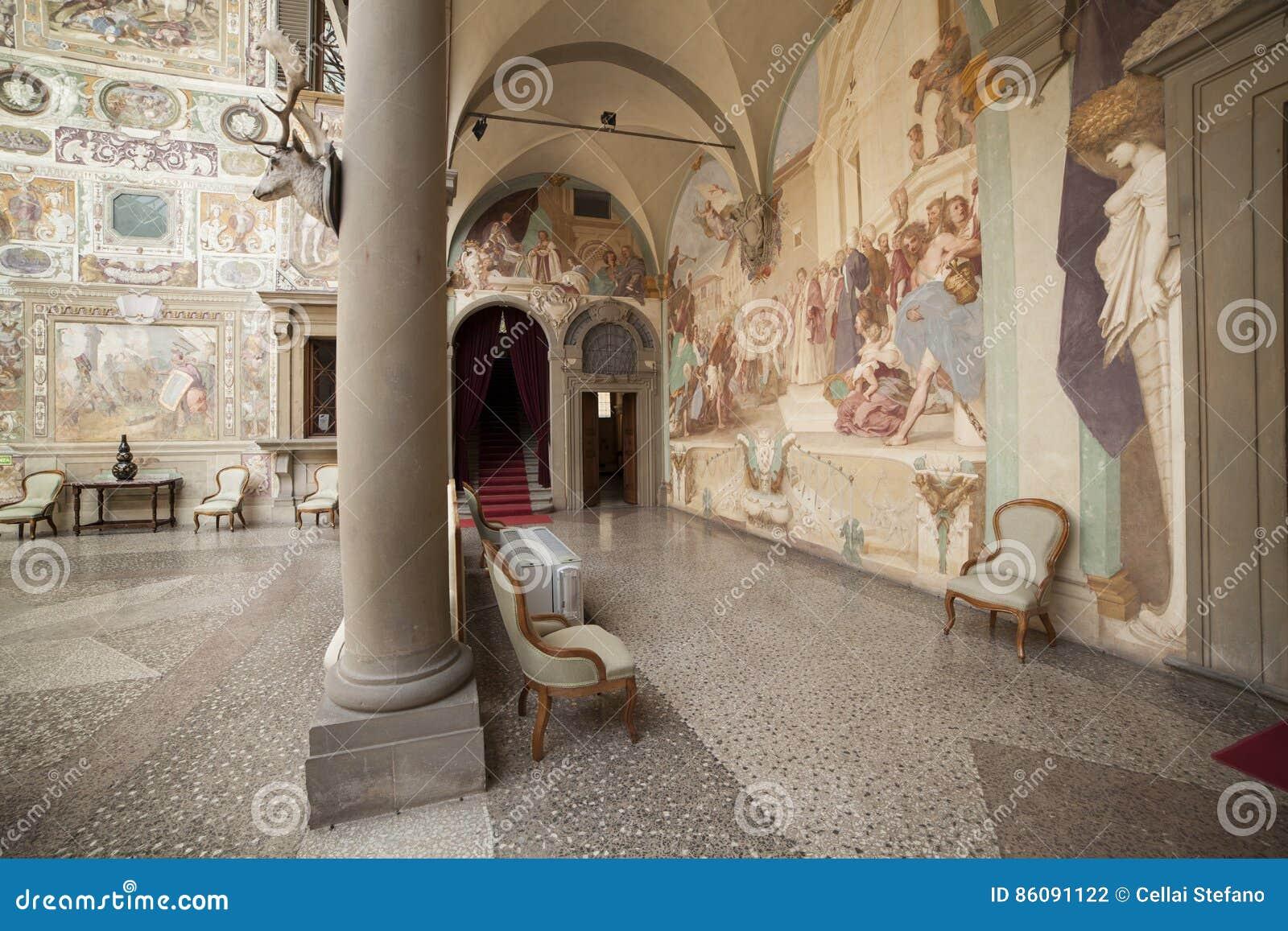 Italië, Toscanië, Florence, Petraia-villa
