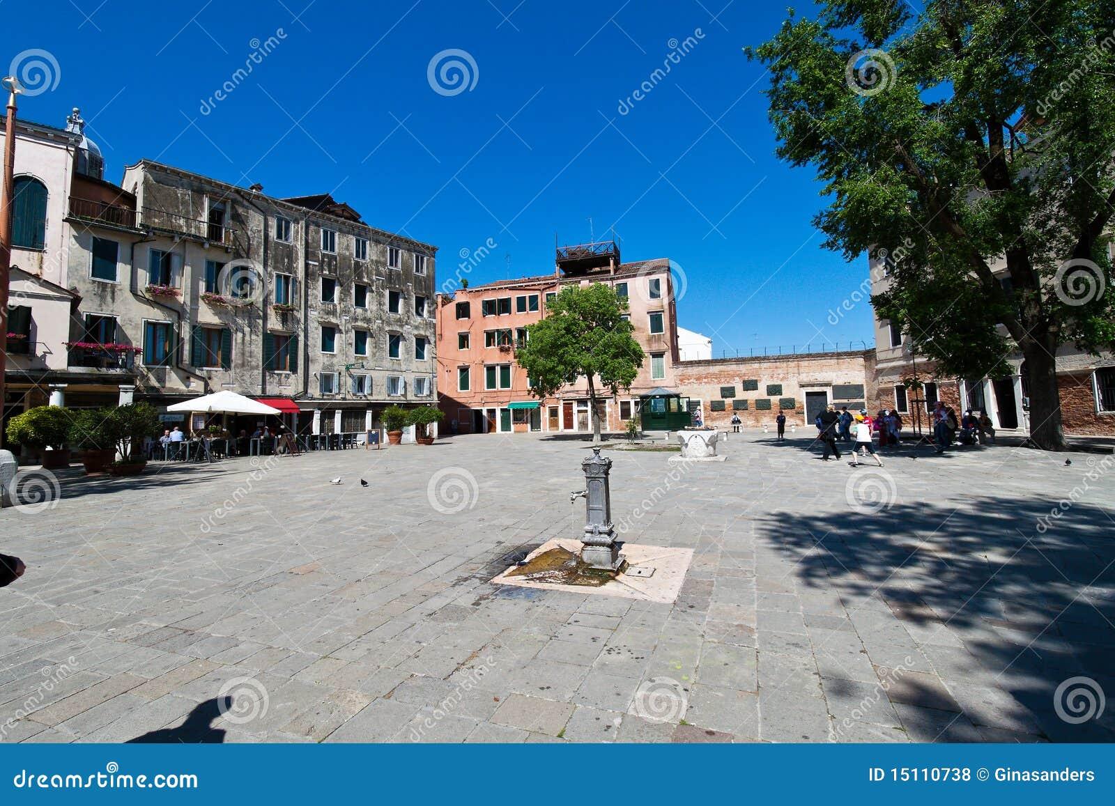 Italia, Venecia. Cuarto judío, ghetto