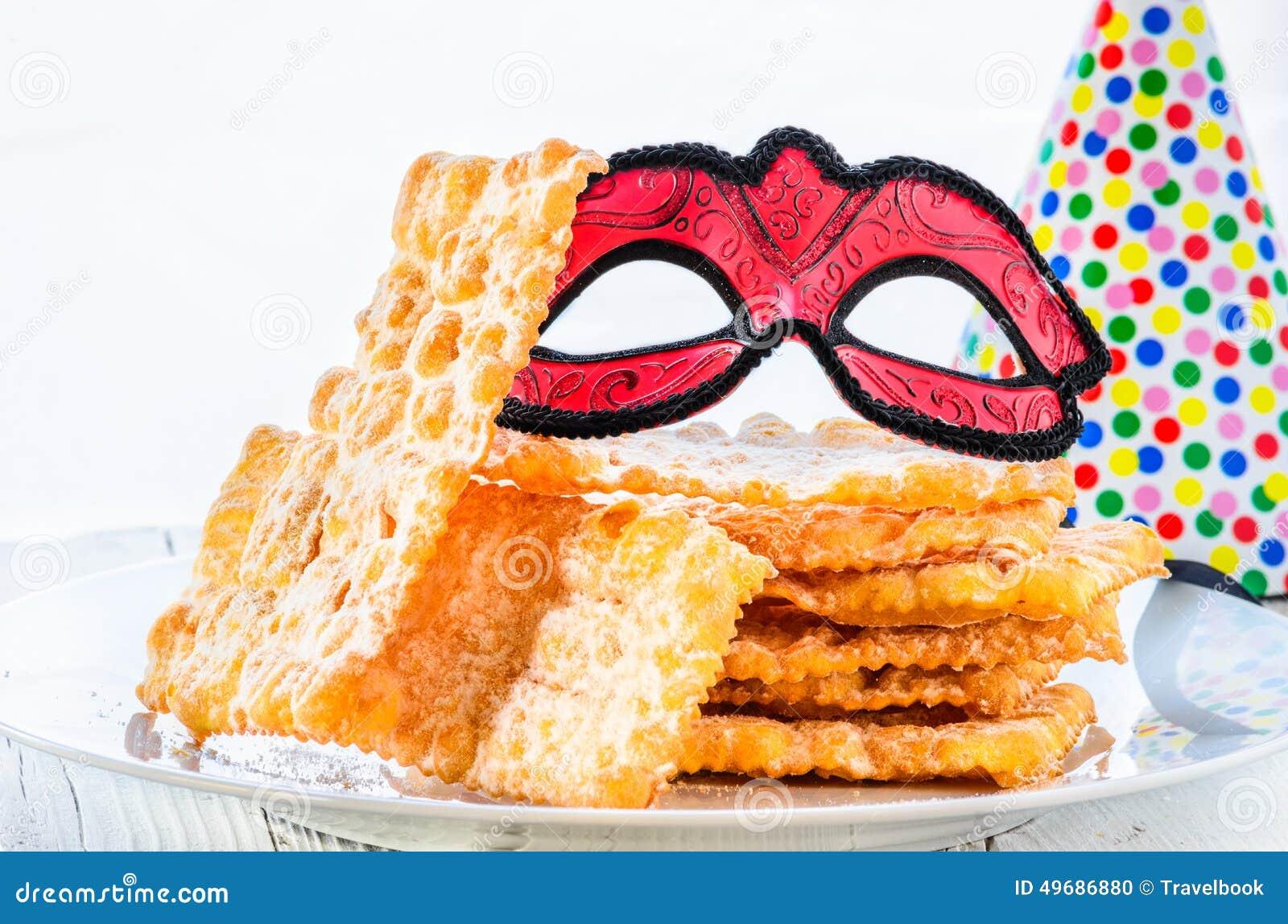 Italiaans Carnaval-gebakje