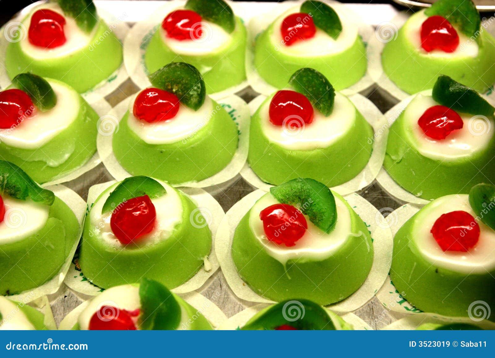 Italiaans cassata mignon dessert