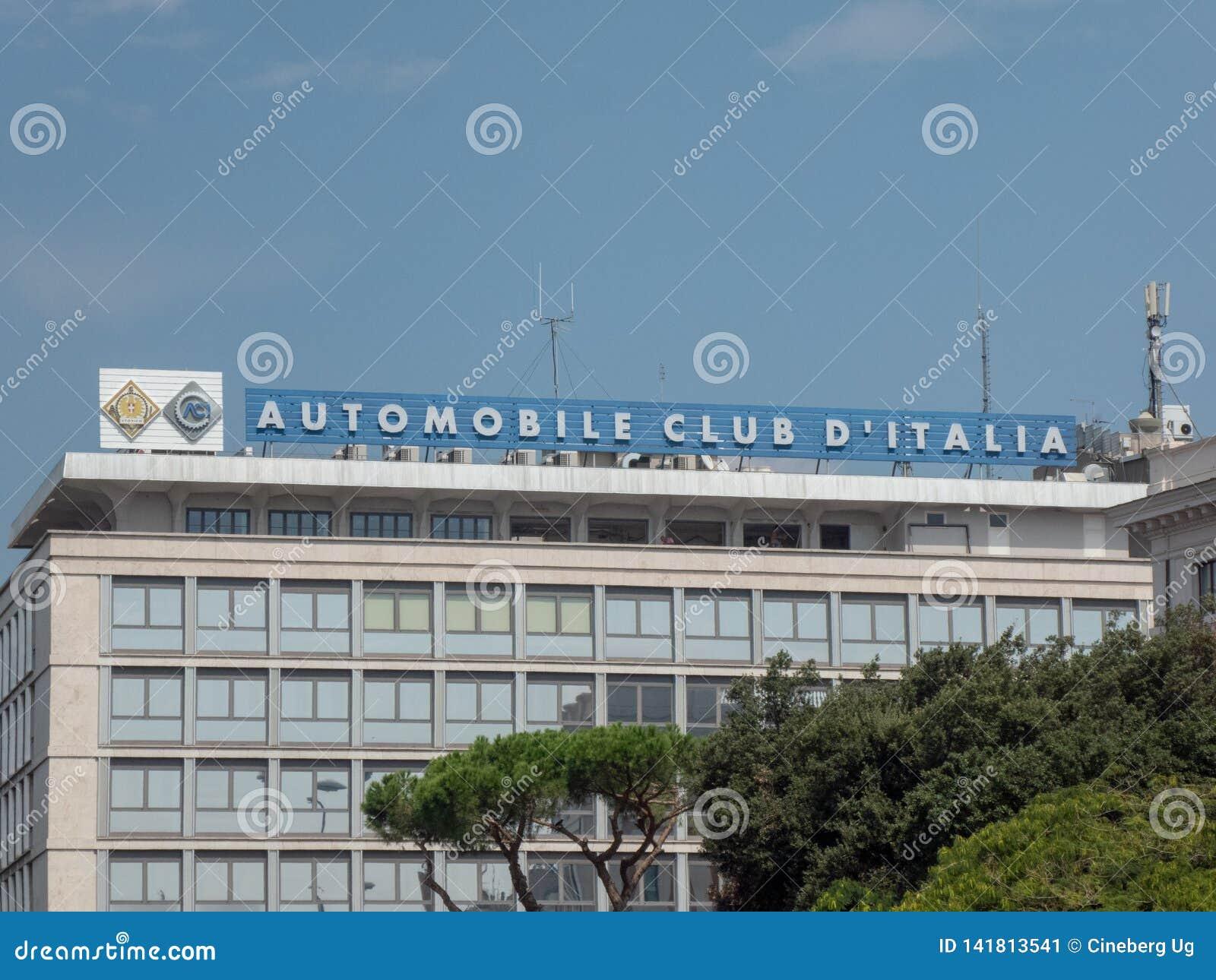 Italiaanse ACI signage