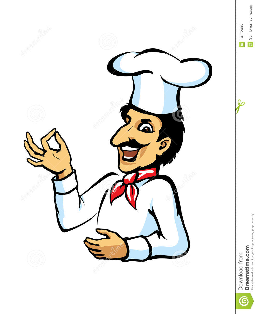 italiaanse chef kok royalty vrije stock afbeelding beeld italian pizza chef clipart italian chef clip art cartoon