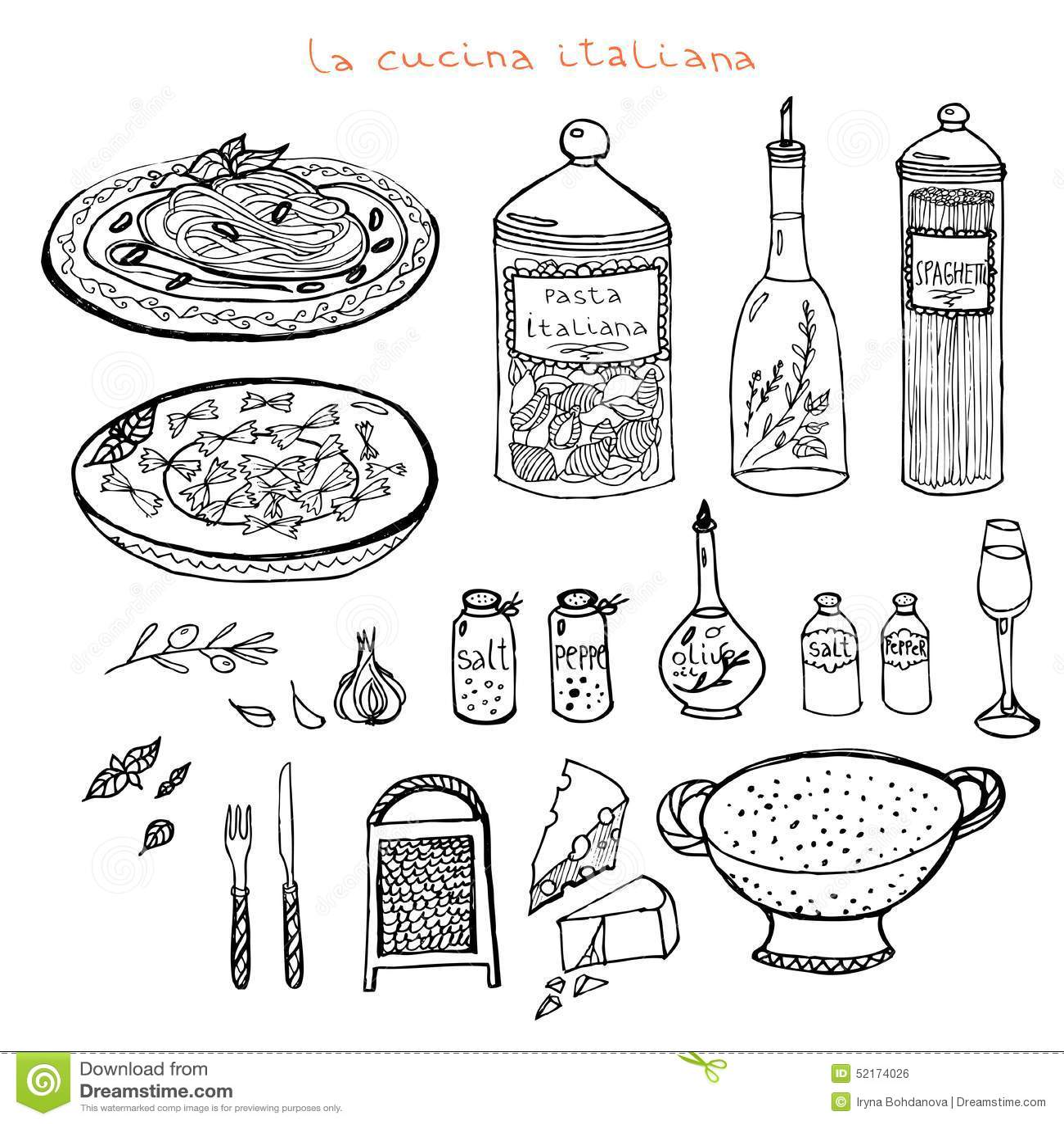 Italiaanse keukenreeks