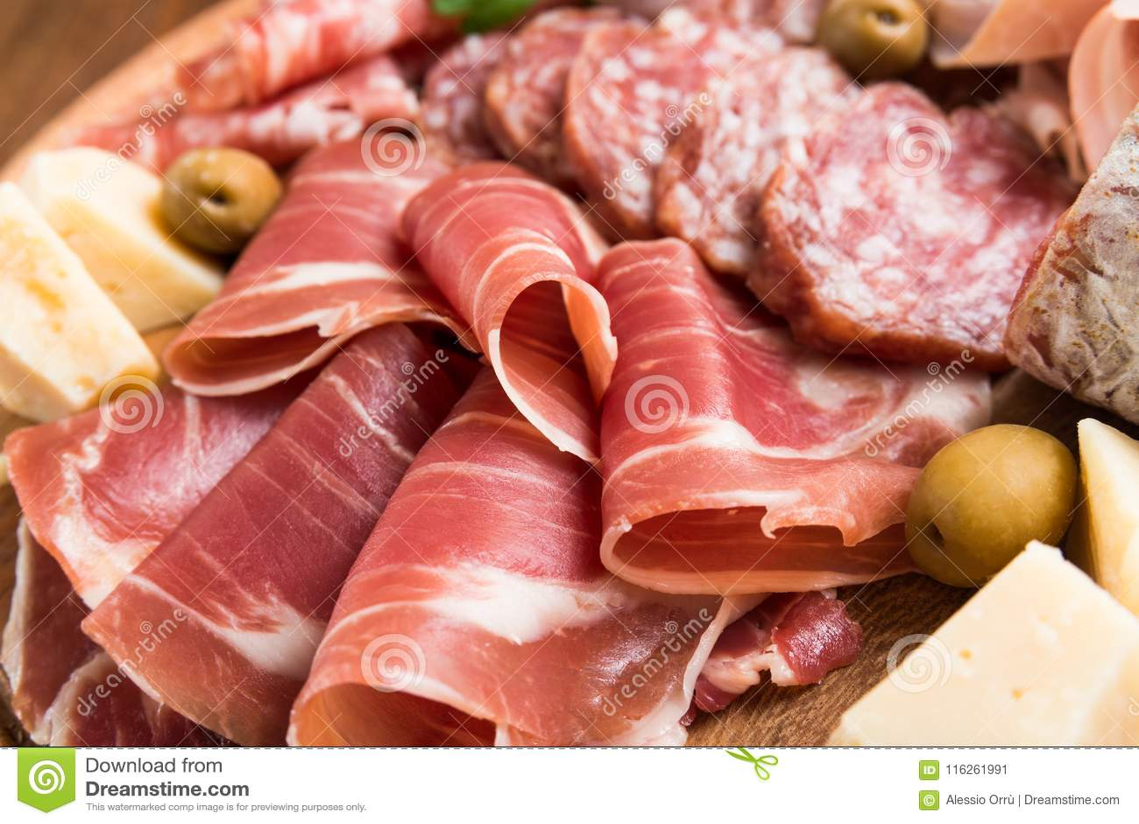 Italian Appetizers Platter Stock Image Image Of Foodie 116261991