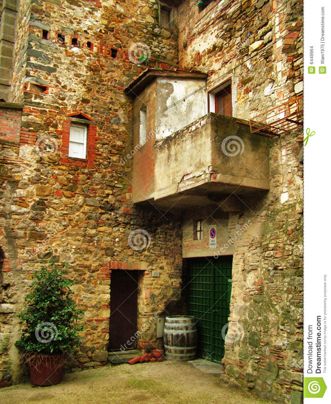 Italian Architecture Stock Photo Image Of Plant Beautiful