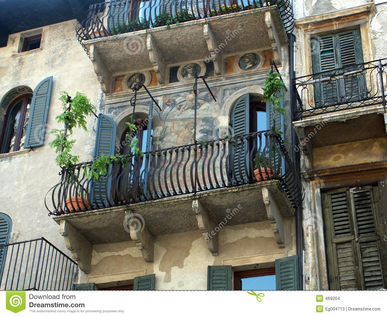 Italian balcony stock images image 469204 for Italian balcony