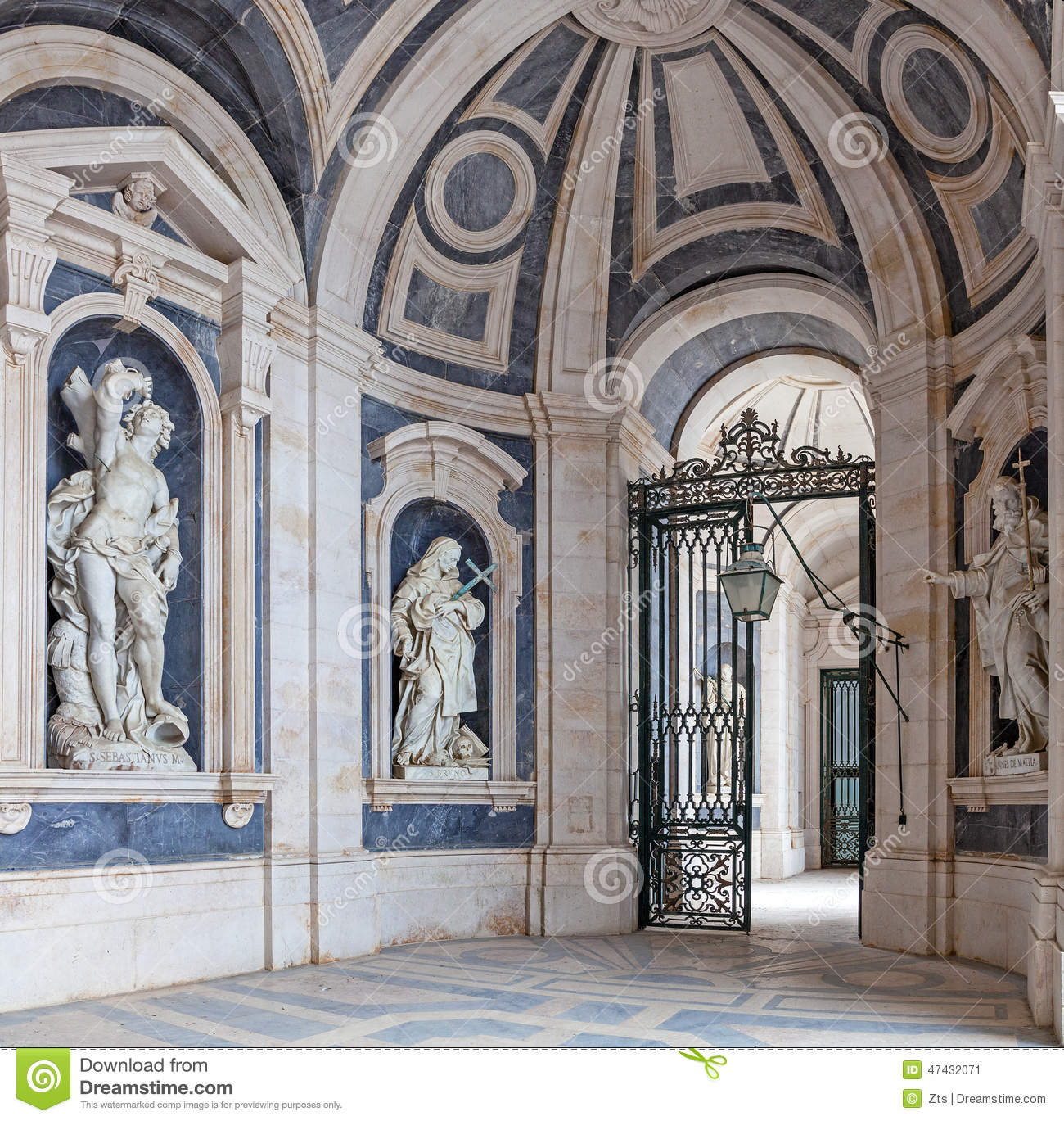 Italian baroque sculptures stock image image of for L architecture baroque