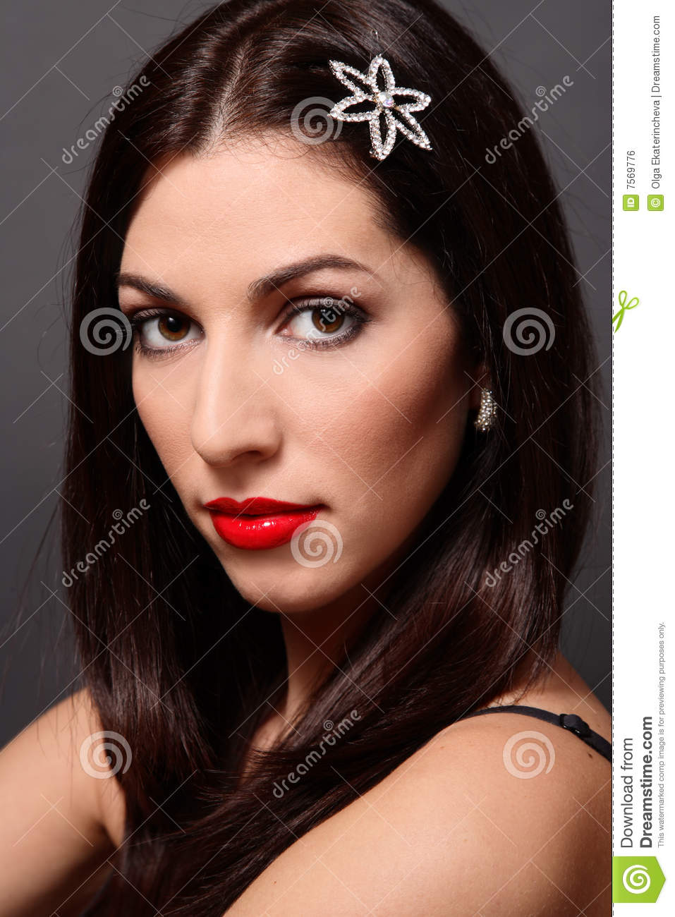 Italian Beauty Royalty Free Stock Image
