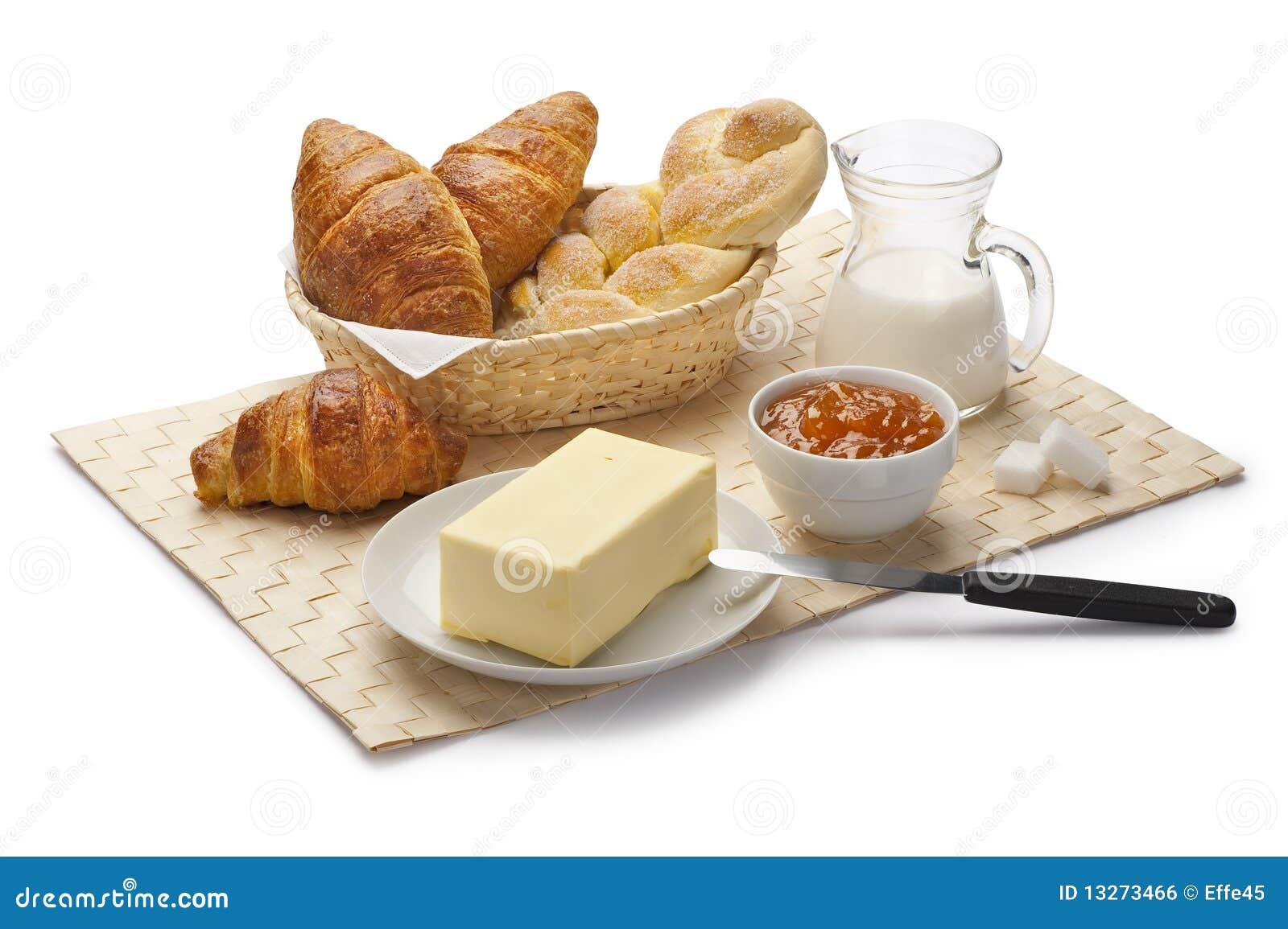 Italian breakfast stock photo image of complete milk for Italian breakfast
