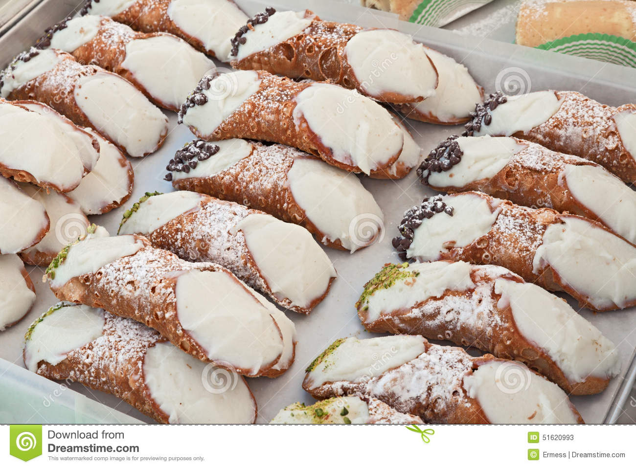 Ricotta-Filled Chocolate Cannoli Recipe — Dishmaps