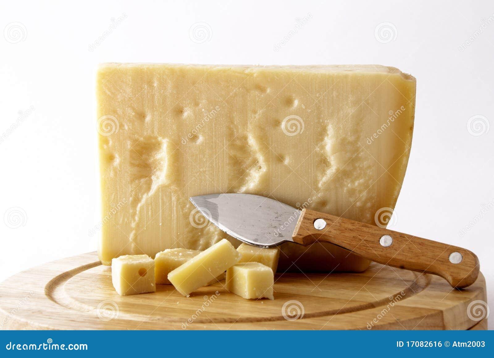 Italian cheese - grana padano