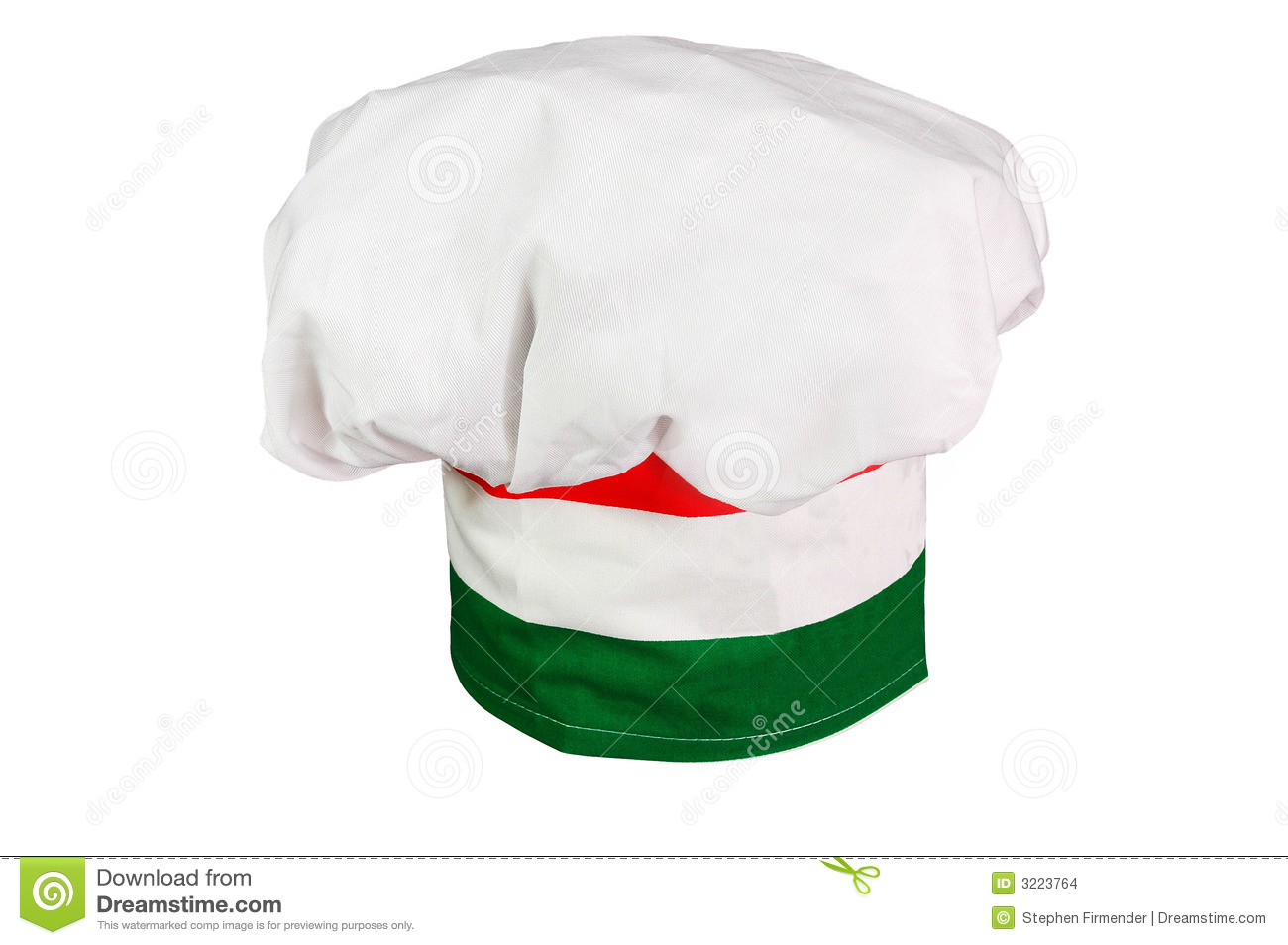 Italian Chef's Hat Stock Images - Image: 3223764