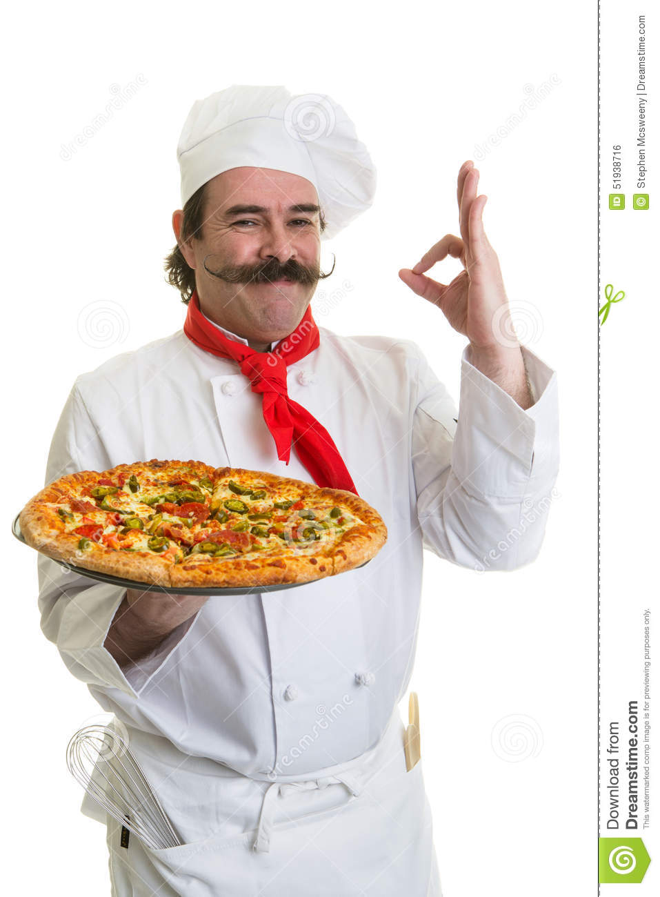 Italian Chef Stock Photo - Image: 51938716