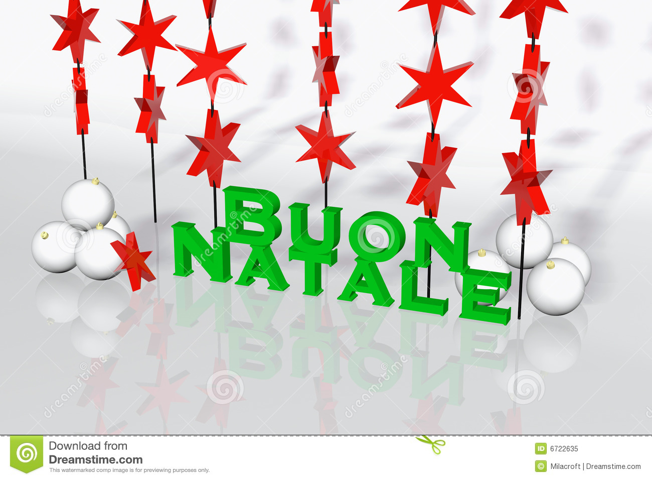 Italian Christmas card stock illustration. Illustration of ...