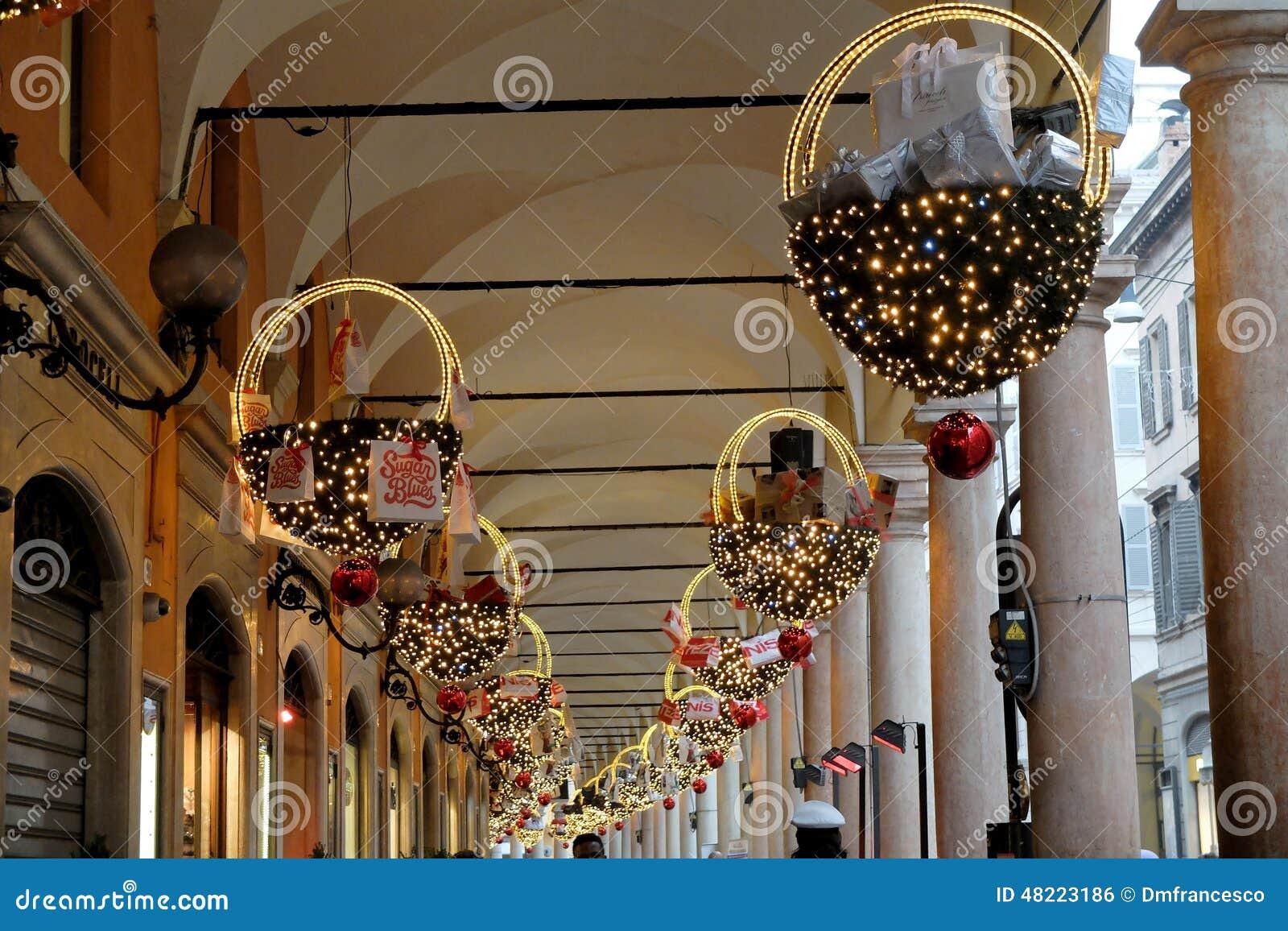 Italian Christmas Decorations Editorial Photo Image Of