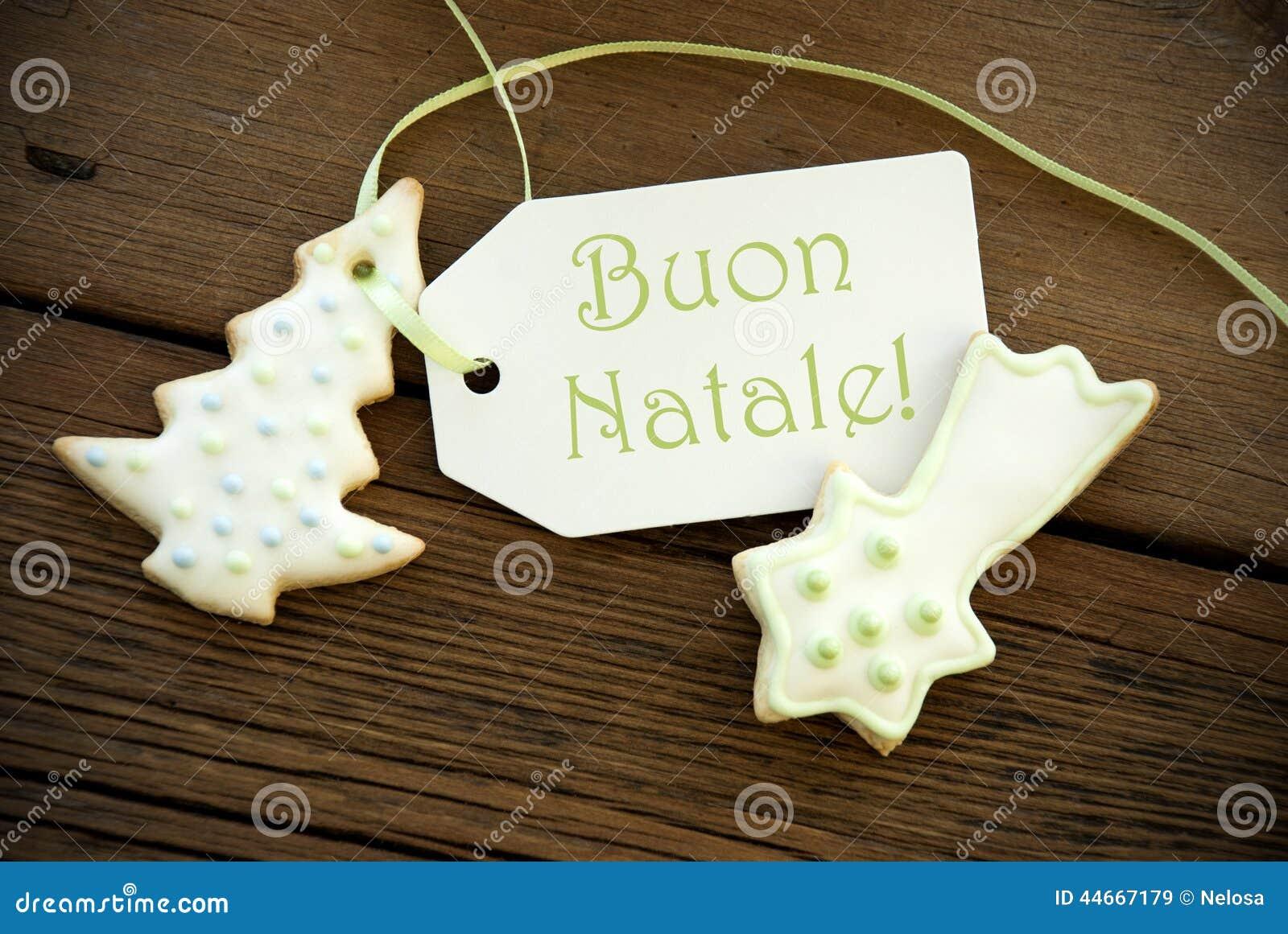 Italian Christmas Greetings Stock Image Image Of Season Greeting