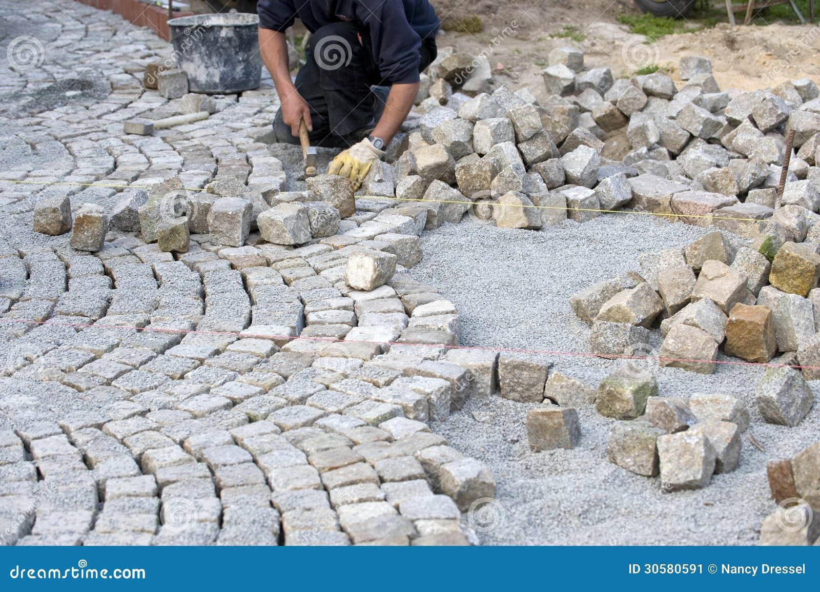 Download Italian cobblestone paver stock image. Image of cobble - 30580591