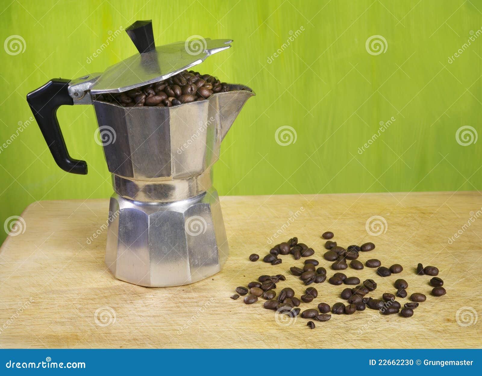 Italian Coffee Maker Stock Photo - Image: 22662230