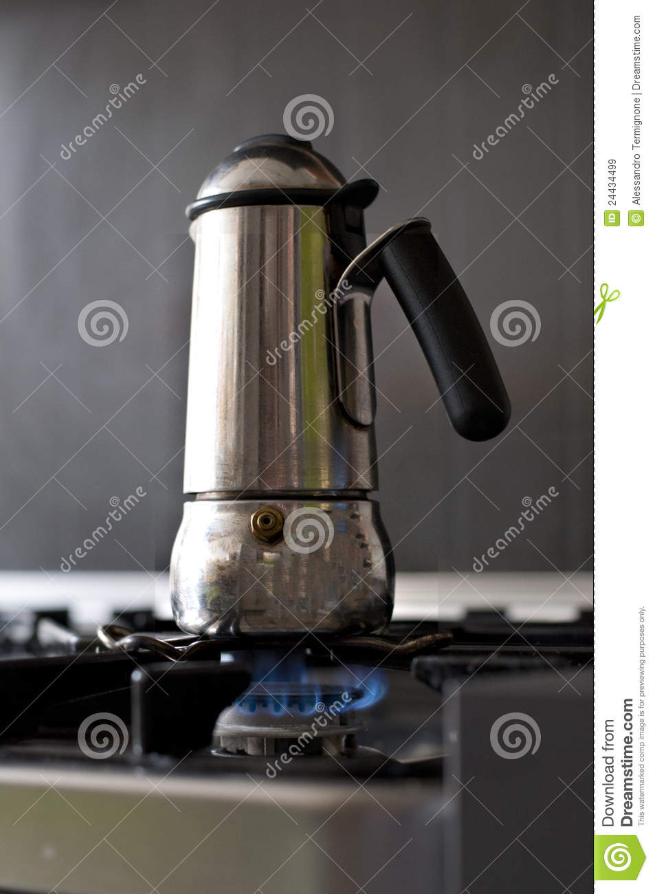 Map Italian Coffee Maker : Italian Coffee Maker Royalty Free Stock Images - Image: 24434499