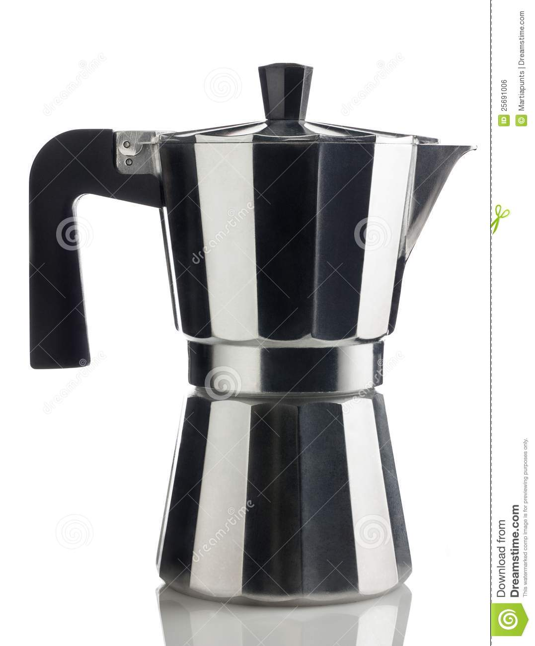 Italian Coffee Maker Royalty Free Stock Image - Image: 25691006