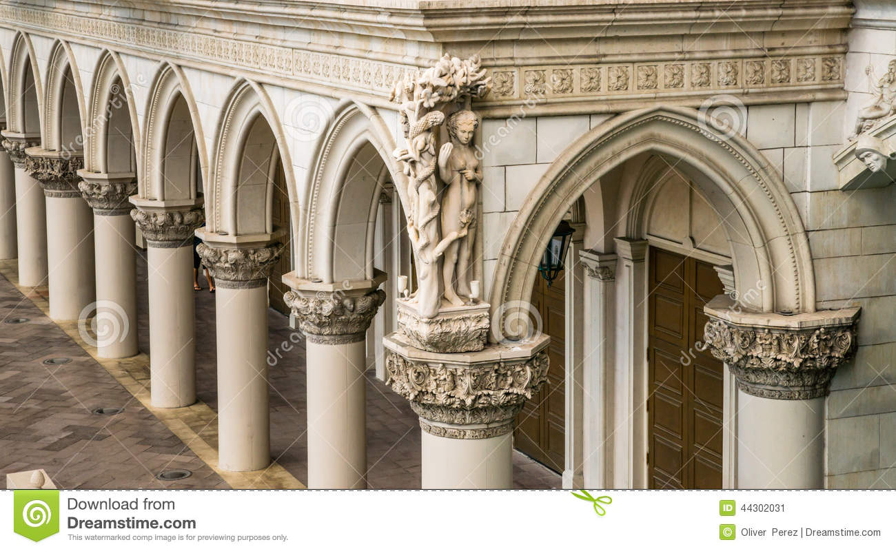 Italian Columns And Arches Stock Image Image Of